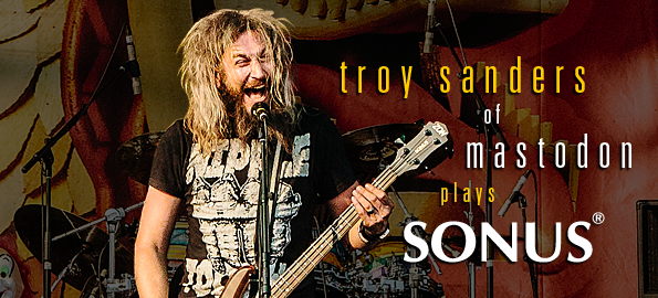 Please welcome Troy Sanders from MASTODON to the ZON family!!!